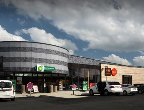 Estación de servicio BP aire Porte d'Angers Sud